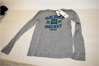 NHL Vancouver Men's Long Sleeve Shirt Size Sm