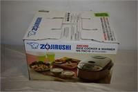 Zojirushi Rice Cooker & Warmer (Open Box)