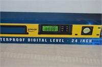 """Dust & Waterproof Digital Level 24"""""""