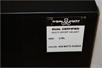 Triple Eight Dual Certified Helmet Size L/XL