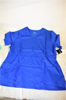 Cherokee Luxe Women's Scrub Top Size 2XL