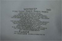 Warners Bra Size 34D