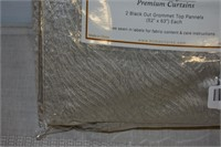 (2) Superior Waverly Grommet Panel Sets