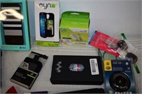 Group of Phone Cases, Watch, &