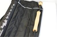 MaxCatch Blackstar Fishing Rod in Case