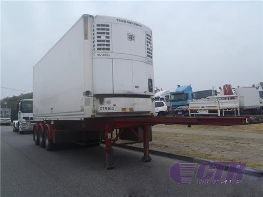 2007 Maxitrans Refrigerated Trailer CTR Truck Sales - Trailers for Sale