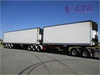 2003 Maxitrans Refrigerated Trailer B Double Trailer Set