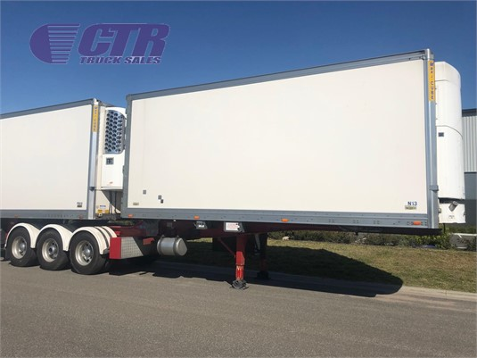 2013 Maxitrans Refrigerated Trailer CTR Truck Sales - Trailers for Sale