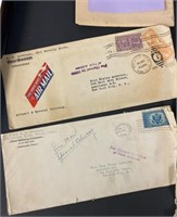 22 Letters from Elaine to her Mom 1933-1948