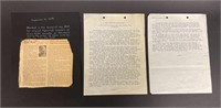 Original Dispatch by Ernie Plye 1943
