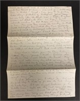 Letter from Elaine after meeting John Steinbeck