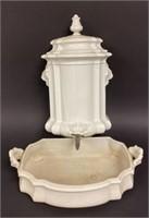 White Ceramic Lavabo