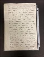Letter to John Steinbeck from Bo Beskow 1962