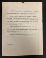 John Steinbeck Correspondence