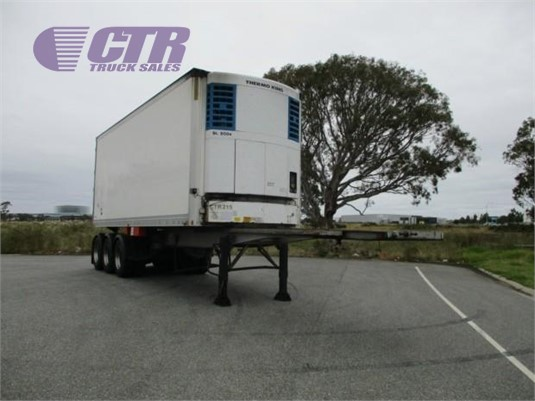 2006 Maxi Cube Refrigerated Trailer CTR Truck Sales - Trailers for Sale
