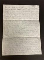 Elaines letter to Mom & Aunt about White House