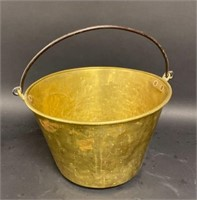 Brass Footman and Two Brass Buckets