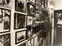 Unframed Photo of Elaine with Wall of Photos