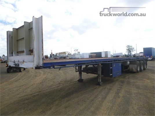 2009 Maxitrans Flat Top Trailer Western Traders 87 - Trailers for Sale
