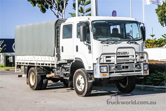 2016 Isuzu FTS 800 4x4 Trucks for Sale