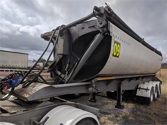 2001 Azmeb Side Tipper Trailer Wheellink - Trailers for Sale