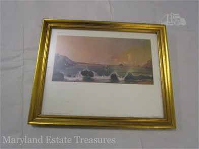 Tv Kast Wit Teak.Rio De Janeiro Bay Print By Heade Other Items For Sale 1