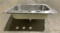 Stainless Steel Table and Sink-