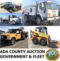 Thurs. Feb. 20th, 2020 - 6pm Ada County Surplus & Fleet