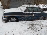 1969 Mercedes Benz 4 door