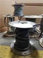 9 Spool Lot Of Wire. See All Photos For Wire