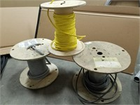 3 Wire Spool Lot. See All Photos.