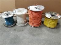 Four Spool Lot Of 12 Awg 600v.