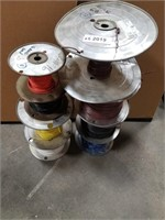 8 Spools Of 16 Awg 600v.