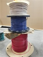 Three Spools Of T90. 12(str) Awg Wire