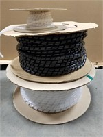 Three Spools Of Wire Spiral Wrap.