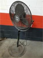 "Industrial Fan. Air King. Adjustable Height. 26"""