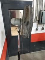 "26"" Industrial Fan. Height Adjustable. Tested."