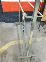 Rolling Hanger. Was Used In Paint Spray Booth.