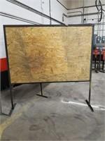 Metal Framed Dividers. Measurements On Final