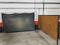 Two Large Room Dividers Or Spray Catchers.