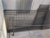 """Lot Various Sizes Steel Mesh. 1"""" And 2"""". Largest"""