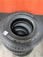 "Good Year Wrangler Tires. Set Of Four. Sr-a. 15"""