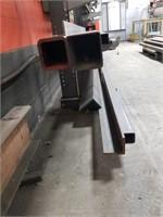 Metal Lengths And Steel Rack. Steel Rack With