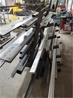 Various Lengths Of Steel And Aluminum Lengths Up