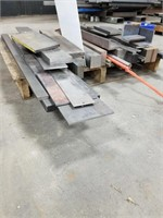 """38"""" X 34"""" Pallet With Various Sizes Of Steel"""
