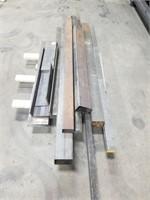 """Various Lengths Of Steel. Longest Measuring 124"""""""