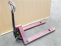 Pallet Hand Cart 5500lb. In Working Order.