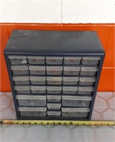 Small Hardware Organizer With Drill Bits
