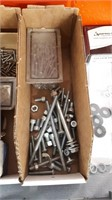 Small Hardware Lot Including Nuts, Bolts, Screws,