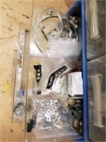 Bench top organizer. and contents. Contents